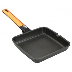 Asador BRA 28 cm EFFICIENT ORANGE LISO