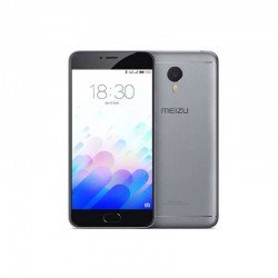 MOVIL MEIZU M3 NOTE (L681H-3/32DGB) METAL GRIS FRONT NEGRO