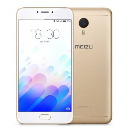 Movil Meizu M3 Note (L681H-2/16Gw) Metal Dorado Front Blanco