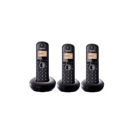 TELEF.INAL. TRIO PANASONIC KX-TGB213SPB NEGRO