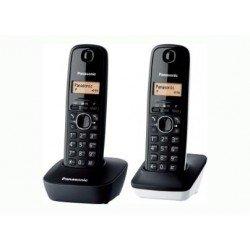 TELEF. INAL. DUO PANASONIC KX-TG 1612 SP1 BLANCO-NEGRO