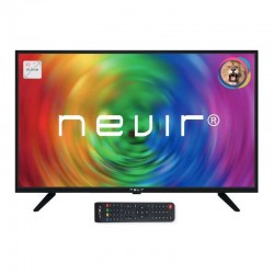 "Televisor Led 32"" Nevir Nvr-7707-32rd-n Hd Ready Panel Slim Modo Hotel U"