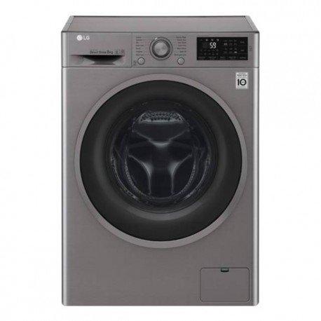LG Lavasecadora 8-5 kg 1400 rpm INOX F4J6TM8S