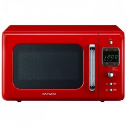 Microondas DAEWOO KOG-6LBR con grill retro Rojo
