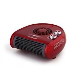 Calefactor ORBEGOZO FH5033 2500 W Rojo Horizontal