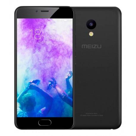 "Movil Meizu M5 5 2"" Black 2gb Ram  16gb 1.5ghz X4 4g Cpu Mtk Mt6750"
