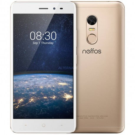 "Movil Tp-link Nefflos X1 Lite Sunrise Gold  5""hd  2gb  16gb  Octacore  13mpx"
