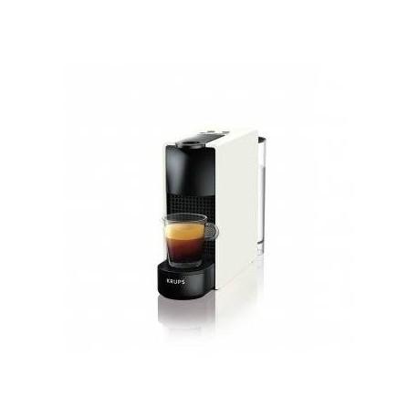 Cafetera Krups Nespresso Mini Essenza XN1101 PR5 Blanca 19 Bar