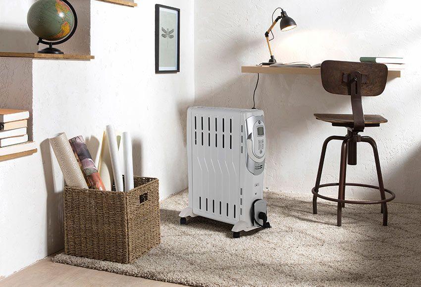 uso de radiadores auxiliares en el hogar