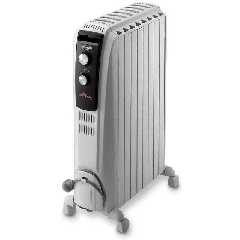 Radiador auxiliar de Aceite DELONGHI DRAGON TRD40820 2000w 8 Elementos