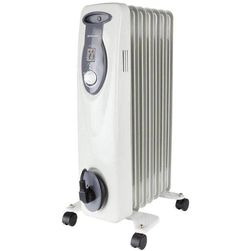Radiador auxiliar Aceite ORBEGOZO RA1500 1500w 7 Elementos